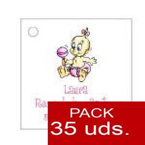 Imagen Etiquetas personalizadas Etiqueta Modelo A28 (Paquete de 35 etiquetas 4x4)