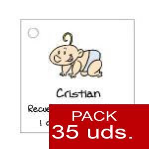 Imagen Etiquetas personalizadas Etiqueta Modelo B23 (Paquete de 35 etiquetas 4x4)
