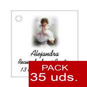 Imagen Etiquetas personalizadas Etiqueta Modelo B28 (Paquete de 35 etiquetas 4x4)