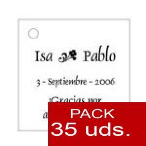 Imagen Etiquetas personalizadas Etiqueta Modelo D01 (Paquete de 35 etiquetas 4x4)