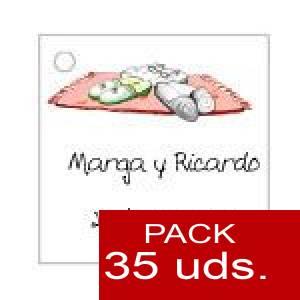 Imagen Etiquetas personalizadas Etiqueta Modelo D05 (Paquete de 35 etiquetas 4x4)