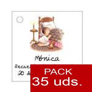 Imagen Etiquetas personalizadas Etiqueta Modelo E21 (Paquete de 35 etiquetas 4x4)