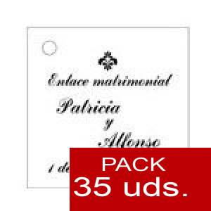 Imagen Etiquetas personalizadas Etiqueta Modelo F03 (Paquete de 35 etiquetas 4x4)