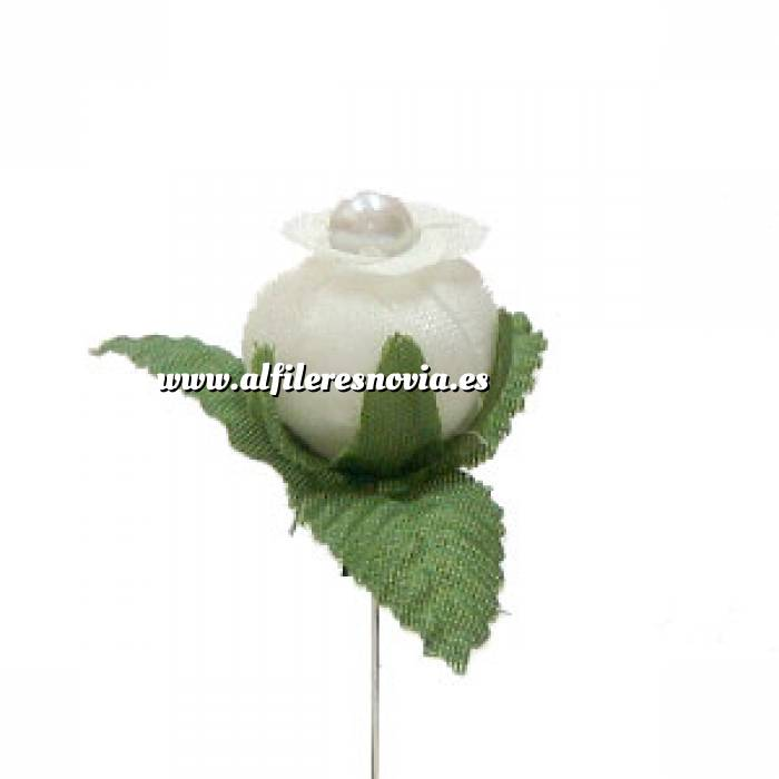 Imagen Alfileres OUTLET Alfiler clásico 09 (capullo blanco) (Últimas Unidades)