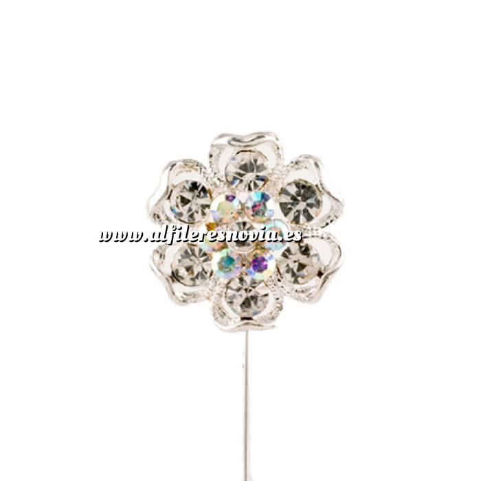 Imagen Alfileres especiales Alfiler Especial 41 (flor plata)