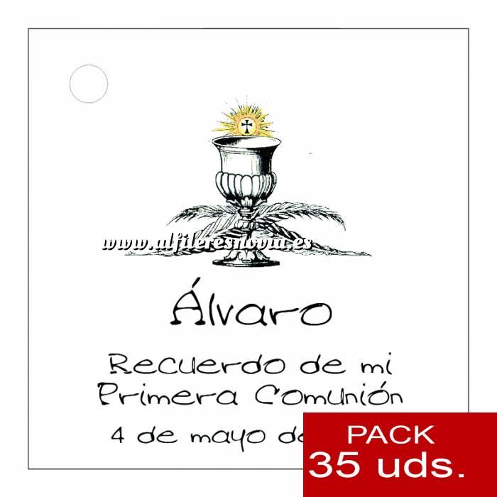 Imagen Etiquetas impresas Etiqueta Modelo A20 (Paquete de 35 etiquetas 4x4)