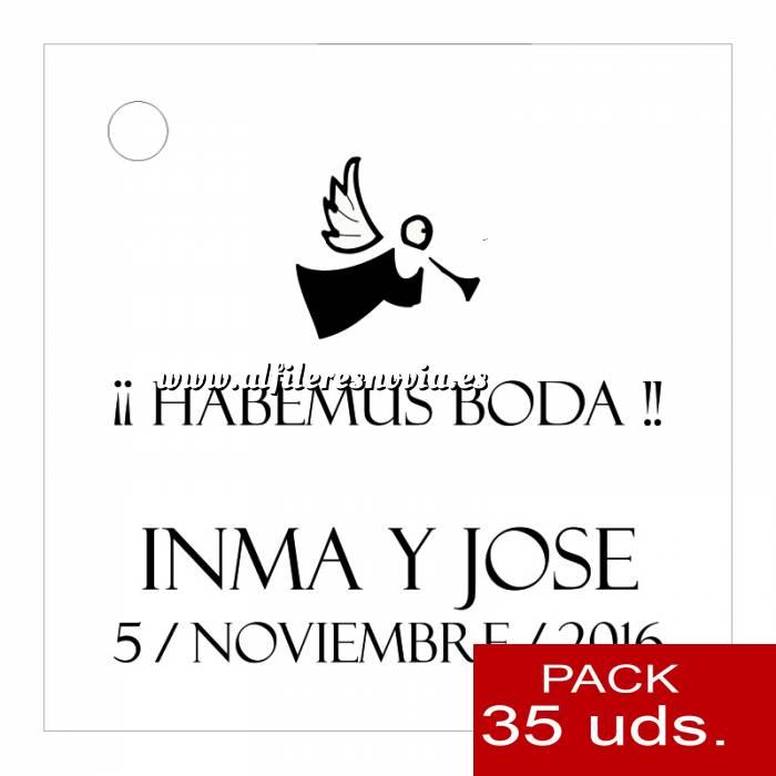 Imagen Etiquetas impresas Etiqueta Modelo B01 (Paquete de 35 etiquetas 4x4)