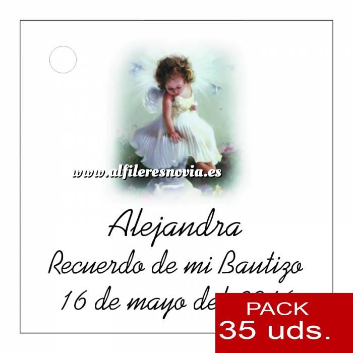 Imagen Etiquetas impresas Etiqueta Modelo B28 (Paquete de 35 etiquetas 4x4)