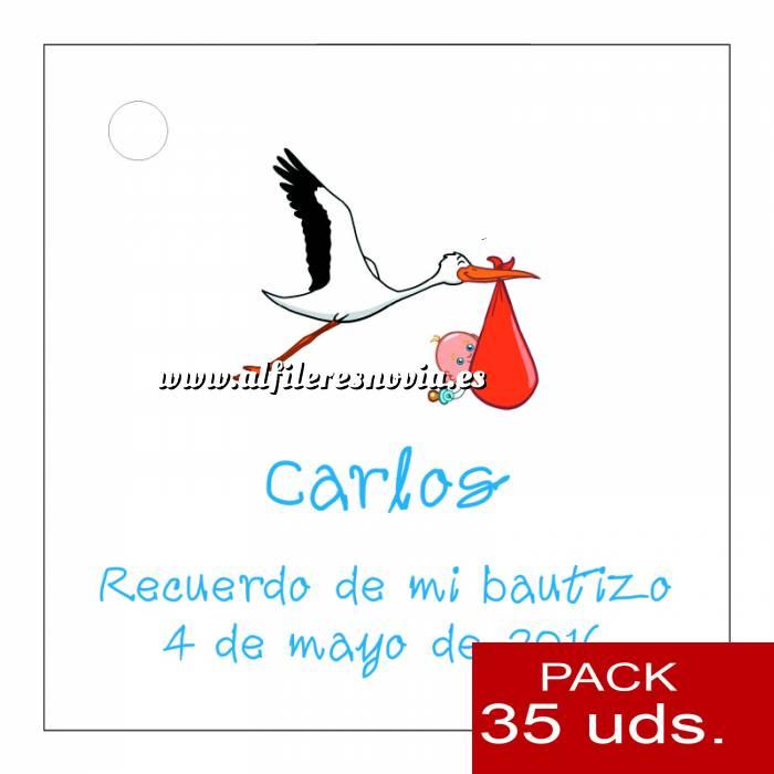 Imagen Etiquetas impresas Etiqueta Modelo E22 (Paquete de 35 etiquetas 4x4)