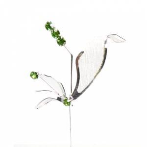 Alfileres especiales - Alfiler Especial 54 (alfiler libélula VERDE)