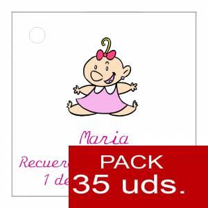 Etiquetas impresas - Etiqueta Modelo B24 (Paquete de 35 etiquetas 4x4)