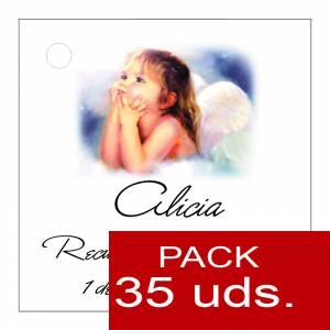 Etiquetas impresas - Etiqueta Modelo B27 (Paquete de 35 etiquetas 4x4)