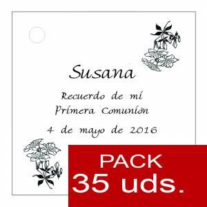 Etiquetas impresas - Etiqueta Modelo C19 (Paquete de 35 etiquetas 4x4)