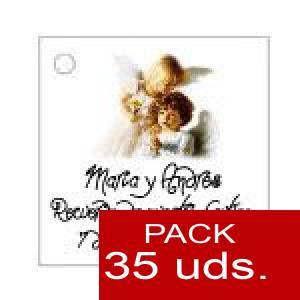 Imagen Etiquetas impresas Etiqueta Modelo C27 (Paquete de 35 etiquetas 4x4)