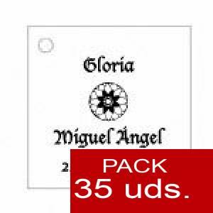Imagen Etiquetas impresas Etiqueta Modelo D11 (Paquete de 35 etiquetas 4x4)