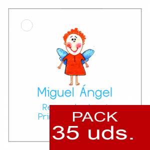 Imagen Etiquetas impresas Etiqueta Modelo D15 (Paquete de 35 etiquetas 4x4)